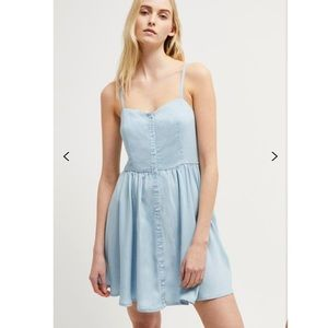 French Connection julienne button front dress 👗